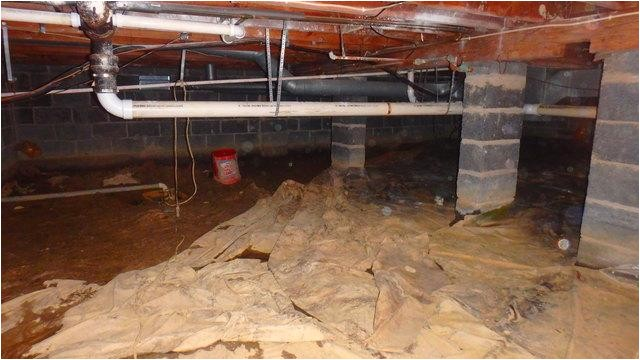 20350 crawl space encapsulation in charleston wv