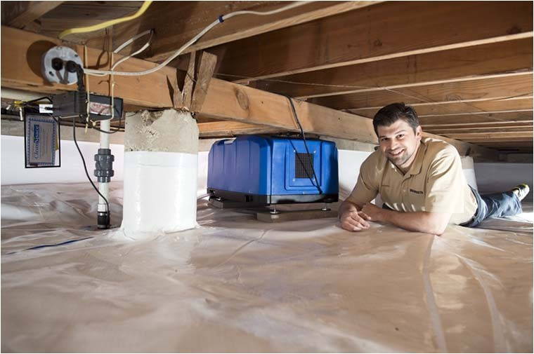 Crawl Space Encapsulation Supplies Crawl Space Encapsulation by Dalworth Restoration In the