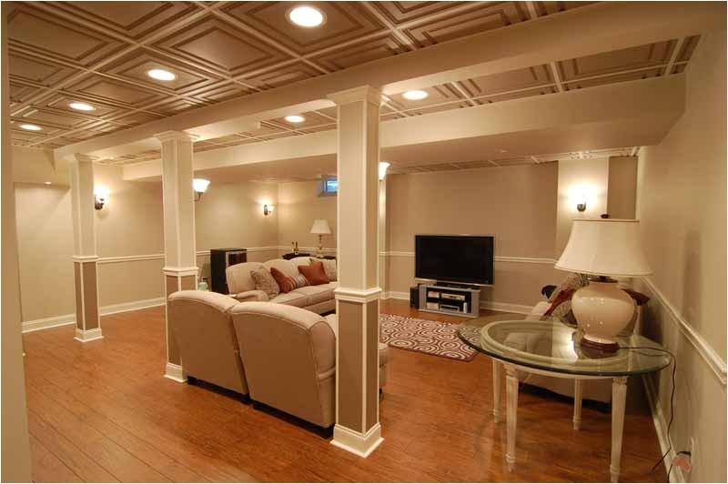 ceiling ideas for basement light fixtures