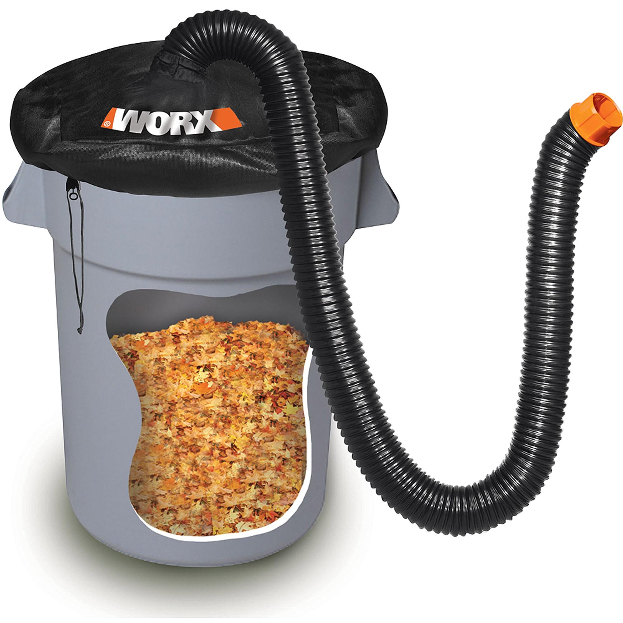 diy leaf vacuum hose