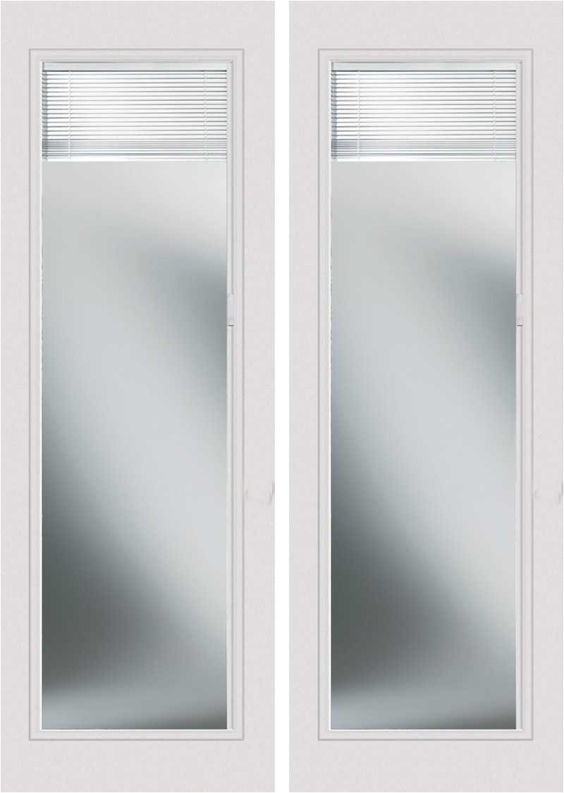 odl enclosed blinds smooth fiberglass french double door