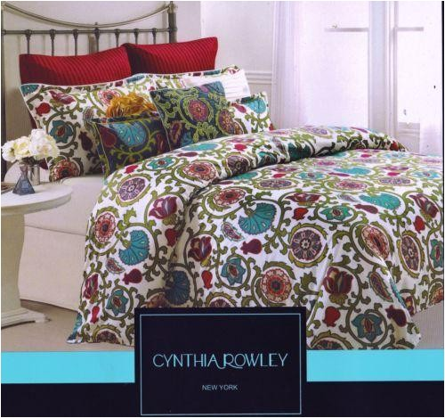 cynthia rowley queen comforter set
