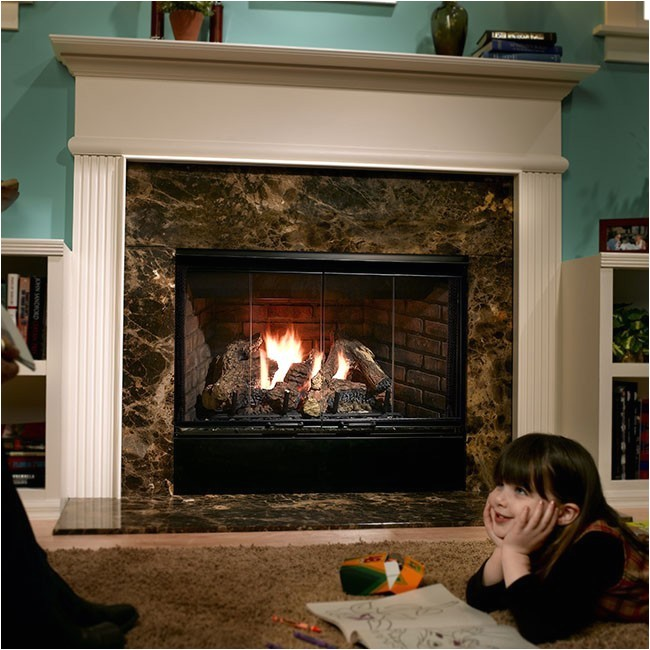 Direct Vent Gas Fireplace Reviews 2019 Heatilator Reveal 42
