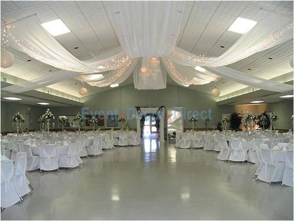 Diy Ceiling Draping Kit Diy Wedding Crafts Ceiling Draping Kits