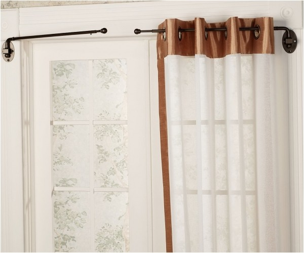 Diy Swing Arm Curtain Rods Swing Arm Curtain Rod Diy In Dining Titan Dues Stationary