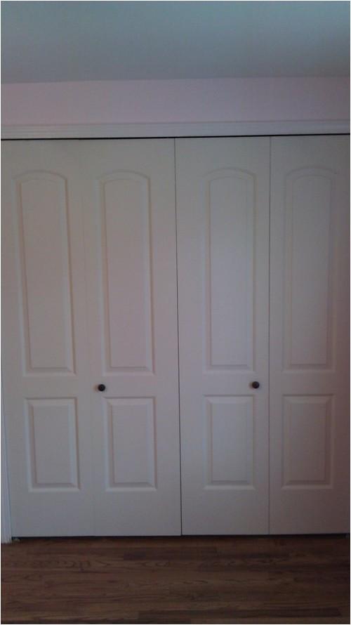 Door Knob Placement On Bifold Doors Bifold Door Knob Placement