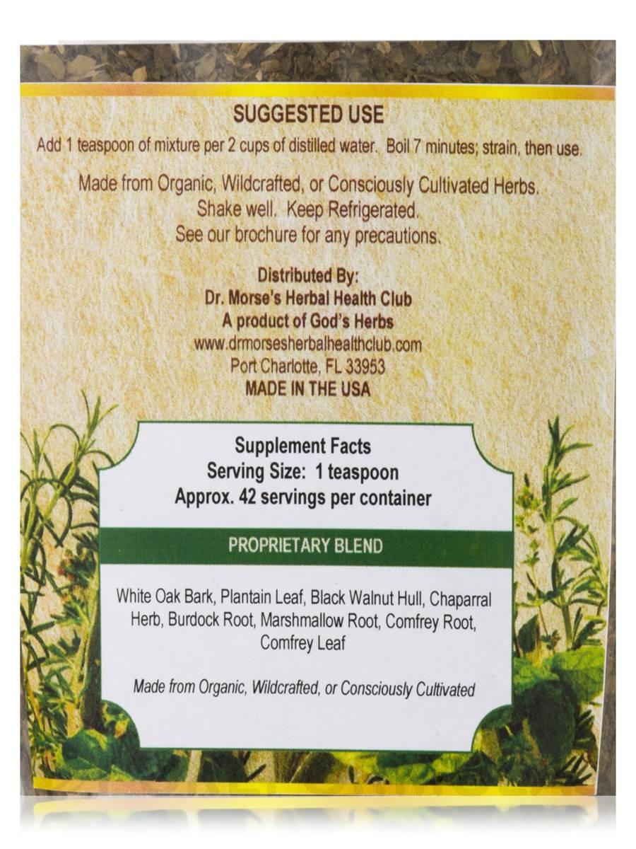 heal all tea 7 oz by dr morses cellular botanicals