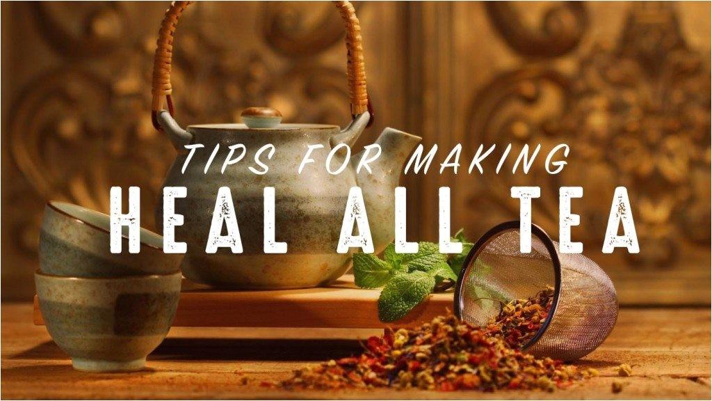 best way make dr robert morses heal tea