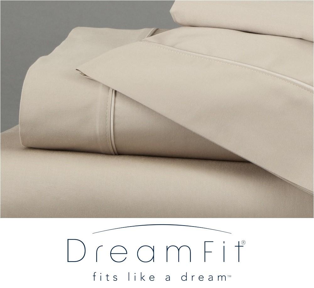 Dreamfit Sheets 5 Degree Dreamfit 5degree Bamboocotton Fullxl Bed Sheet Set Sand