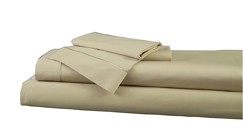 amazon com dreamfit degree 5 bamboo rayon blend sheet set queen pale sage home kitchen