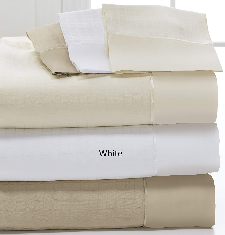 amazon com dreamfit degree 6 microtencel supima cotton luxury sheet set split california king white home kitchen
