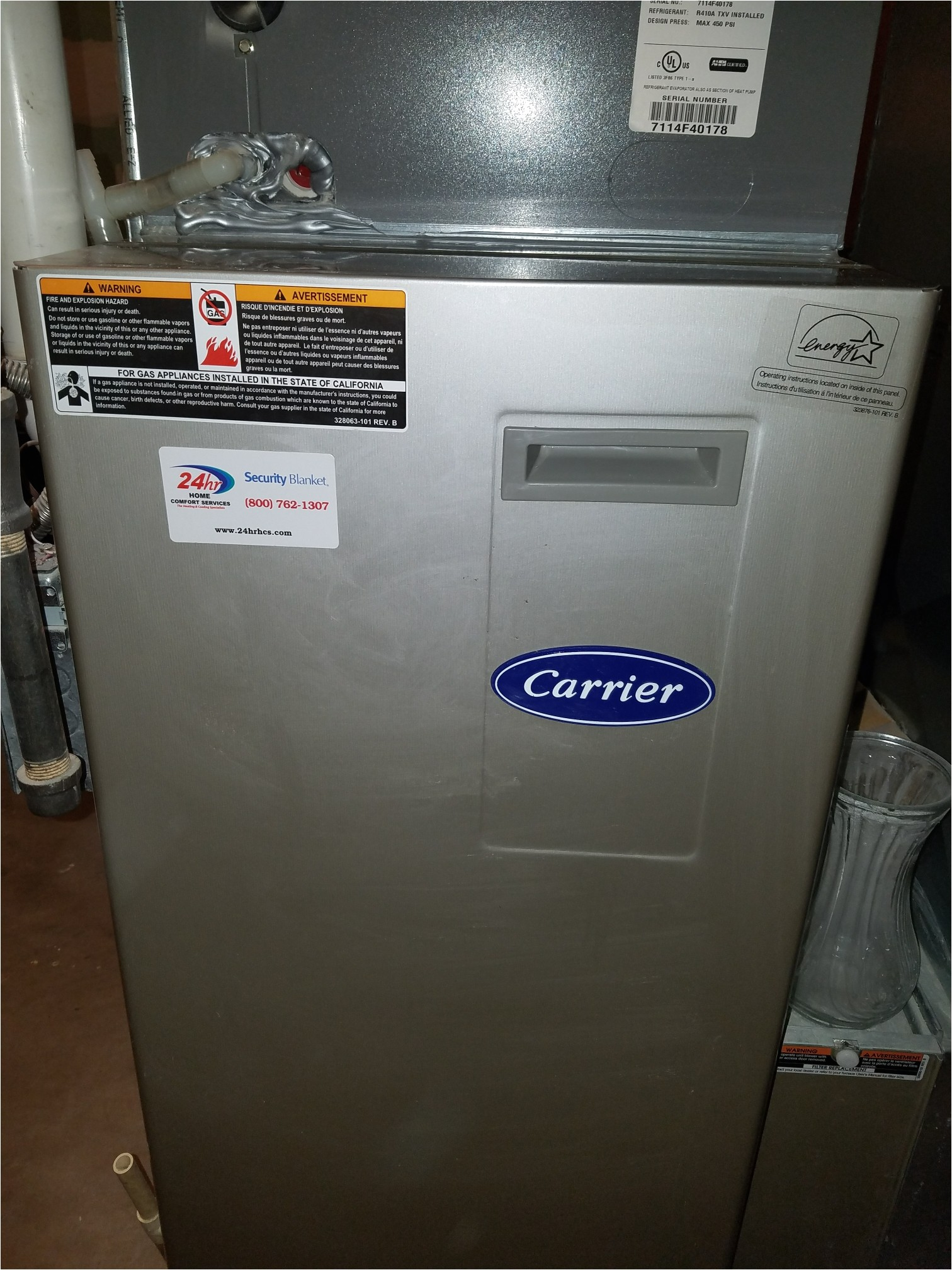 madison wi maintenance on a carrier furnace