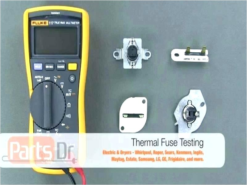 ceiling whirlpool duet dryer thermal fuse