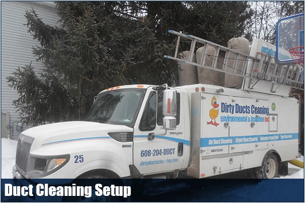 Duct Cleaning Madison Wi Ditry Ducts Cleaning Photo Gallery before after