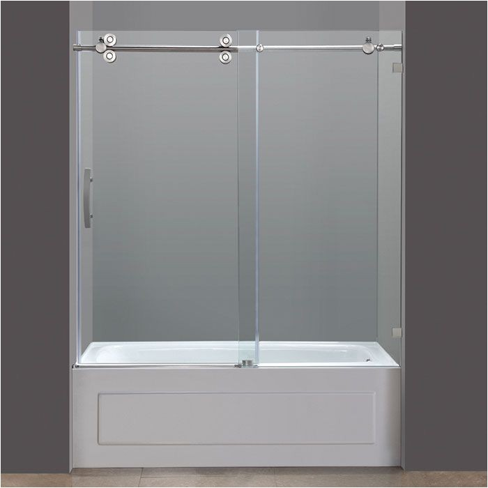 glass door for bathroom tub
