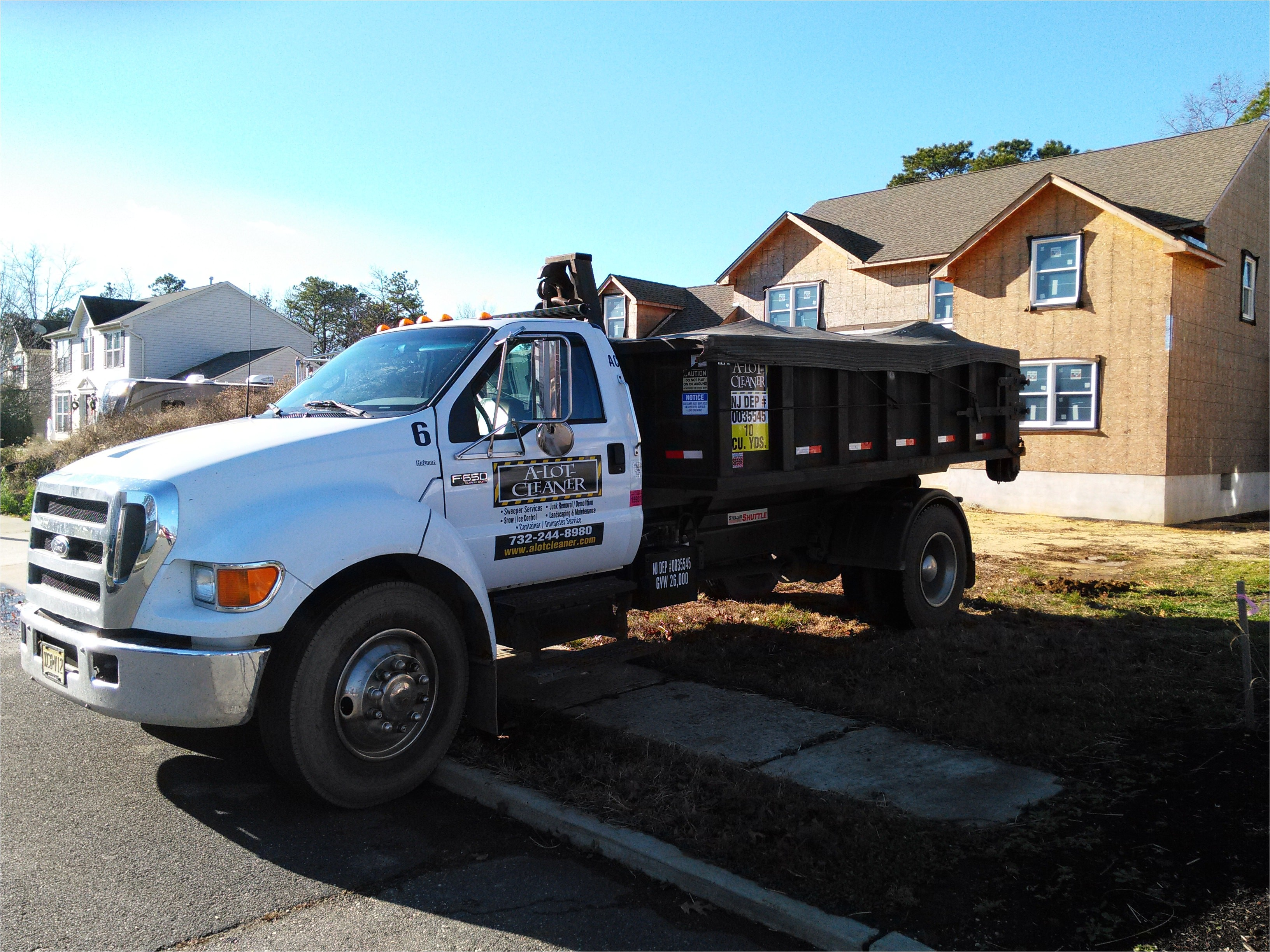 Dumpster Rental Brick Nj Dumpster Rental Junk Removal Clean Outs A Lot Cleaner Inc