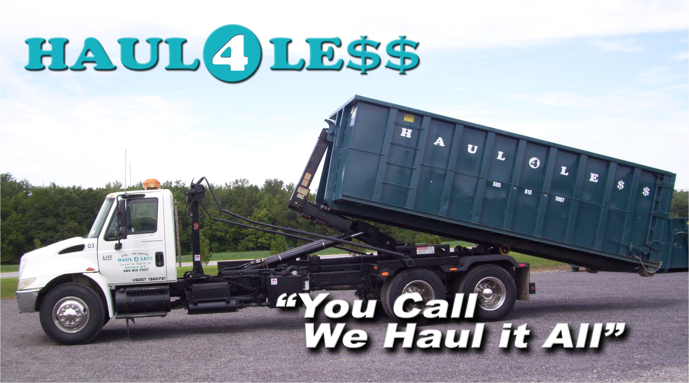 providing commerical residential roll off dumpster rental services