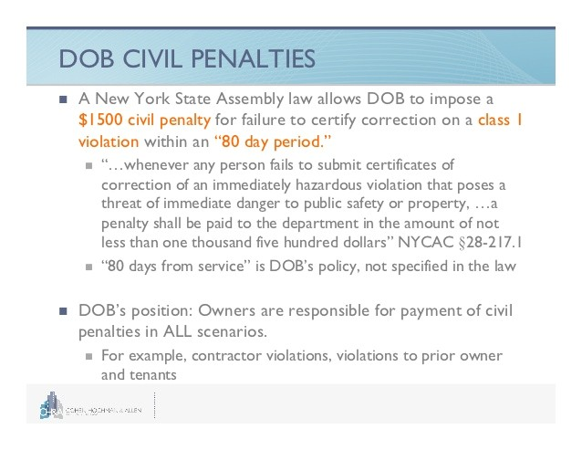 navigating new york city violations