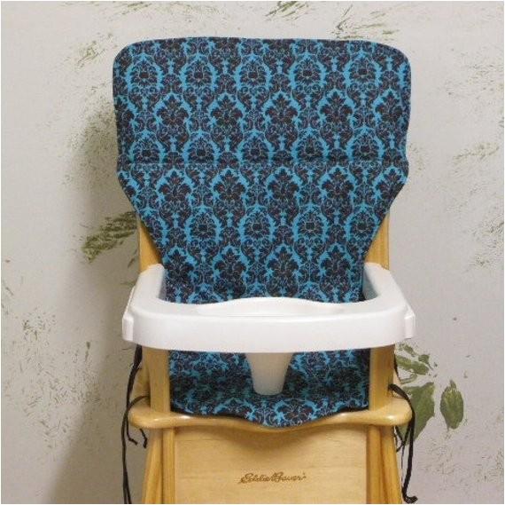 eddie bauer wood high chair cover pad