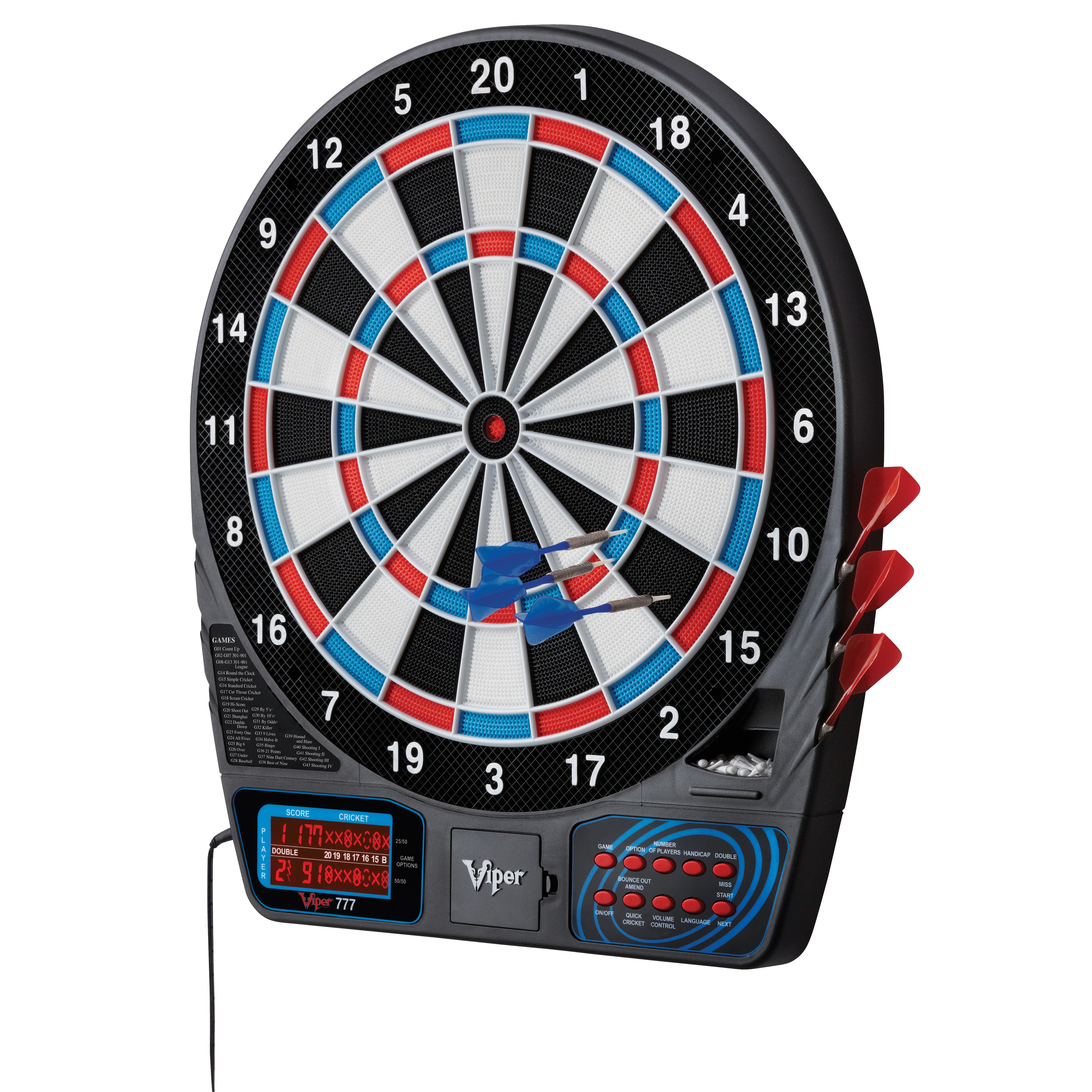 gld products viper 777 electronic dart board vpr1147