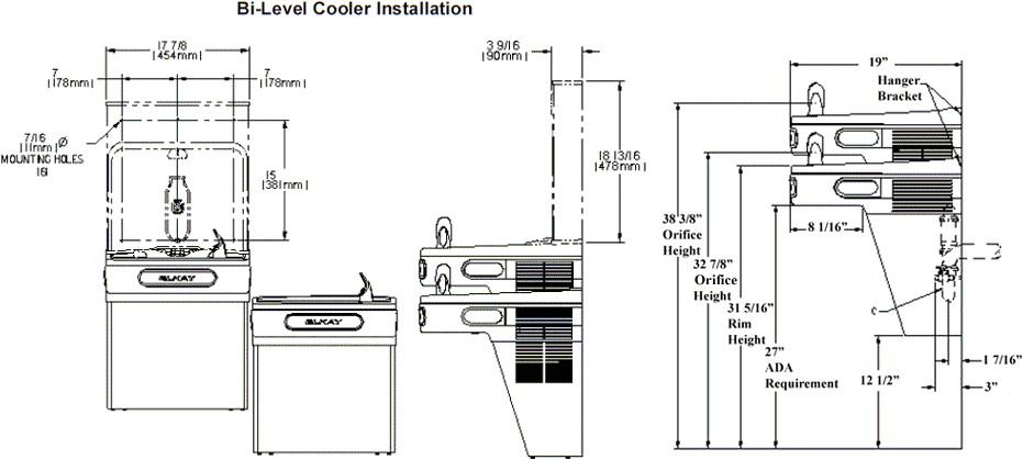 elkay water fountain wiring diagram