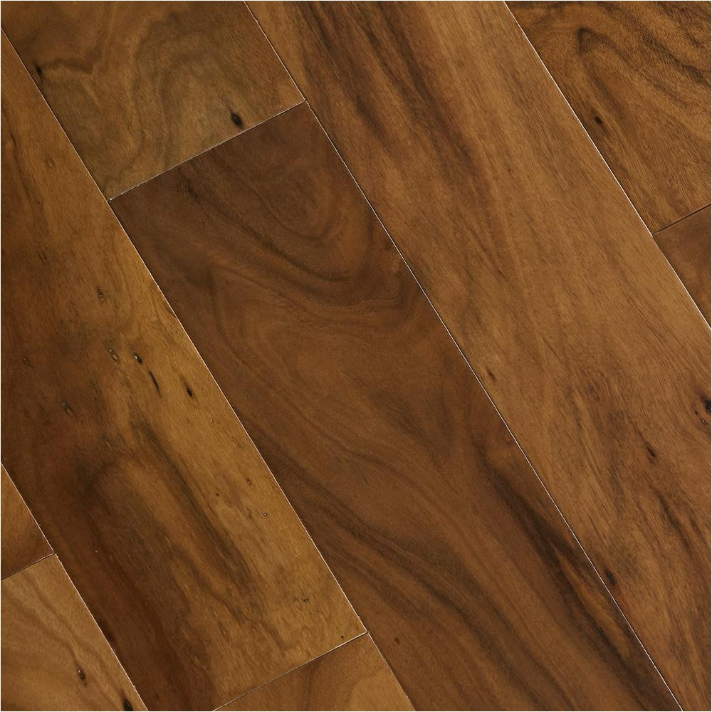 home legend hand scraped natural acacia 3 4 in thick x 4 3