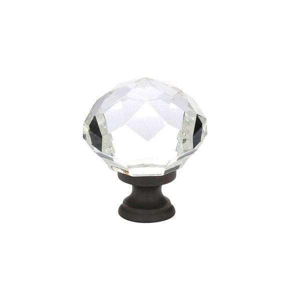 emtek diamond cabinet knob 1 34 p 1193