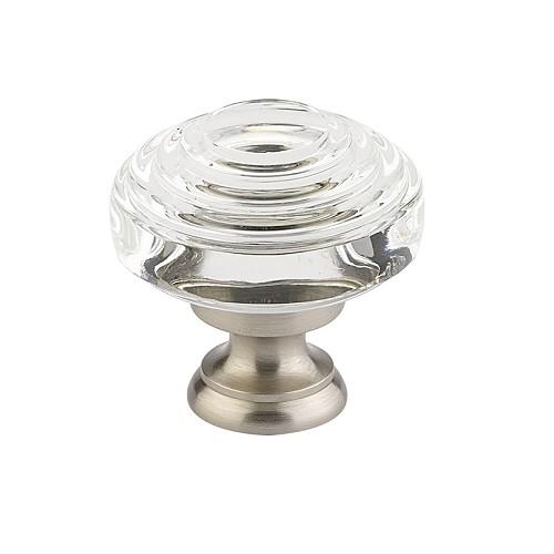 emtek 8656786568 deco crystal cabinet cabinet knob