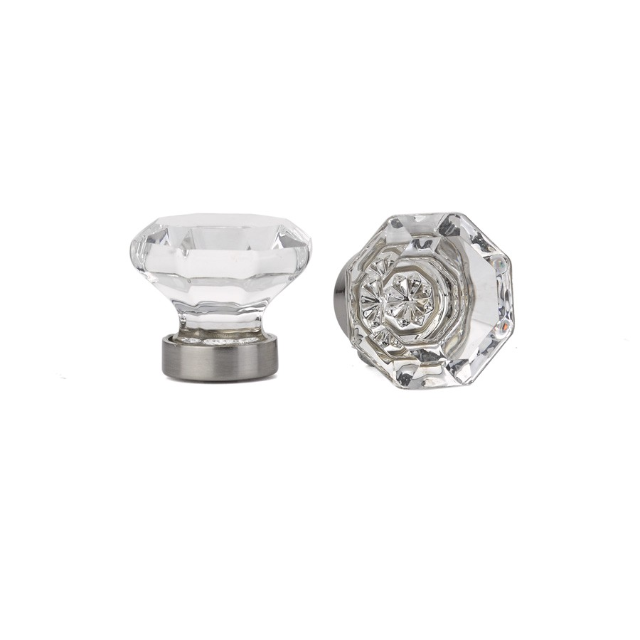 Emtek Old town Crystal Cabinet Knob Door Hardware Locks Handles Entrysets Emtek Products