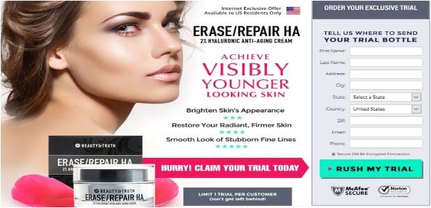 beauty truth erase repair ha renewing serum ce