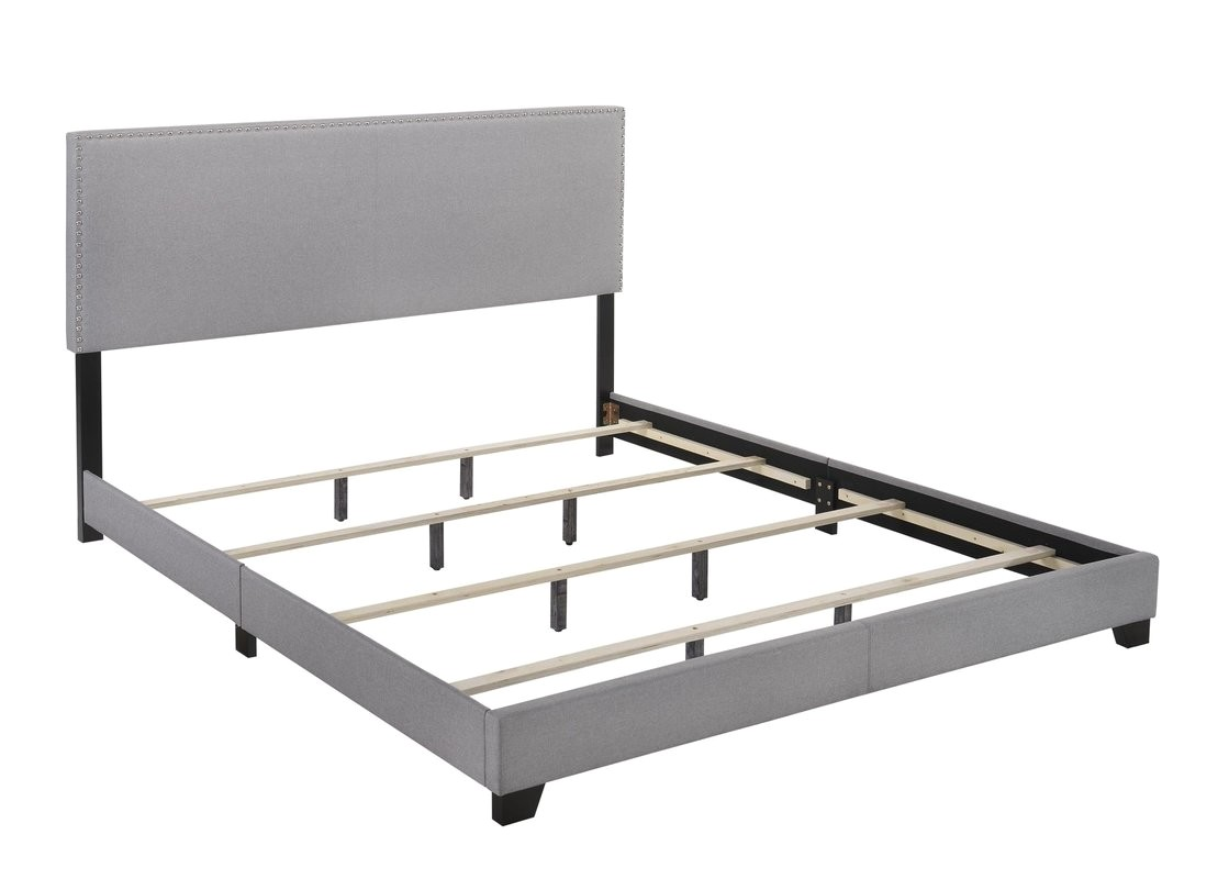 Erin Upholstered Panel Bed Instructions Crown Mark Erin Upholstered Panel Bed Reviews Wayfair Ca