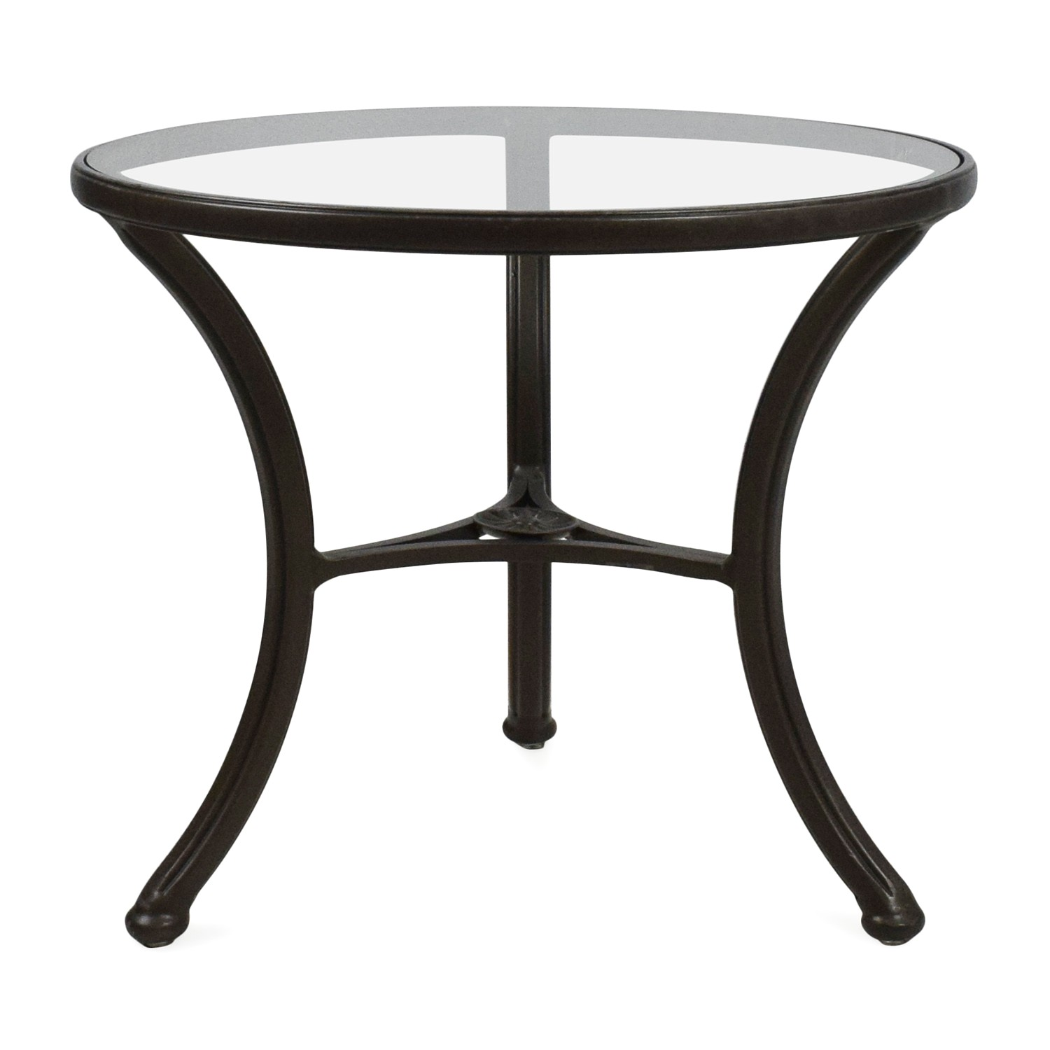 Ethan Allen Glass Side Table 54 Off ashley Furniture ashley Furniture Two Drawer