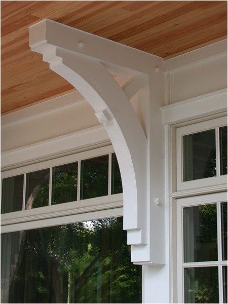 exterior corbel brackets