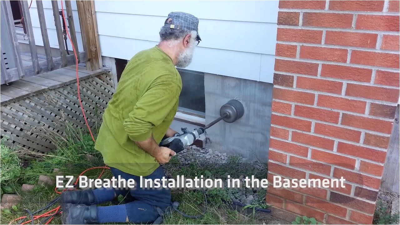 Ez Breathe Ventilation System Radon Ez Breathe Ventilation System Installation Instructions Youtube