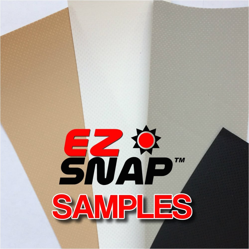 samples of rv skirting fasteners