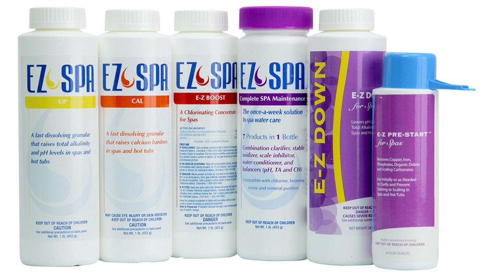 Ez Spa total Care 2lb Ez Spa Care Chemical Kit for Spas Hot Tubs Ebay