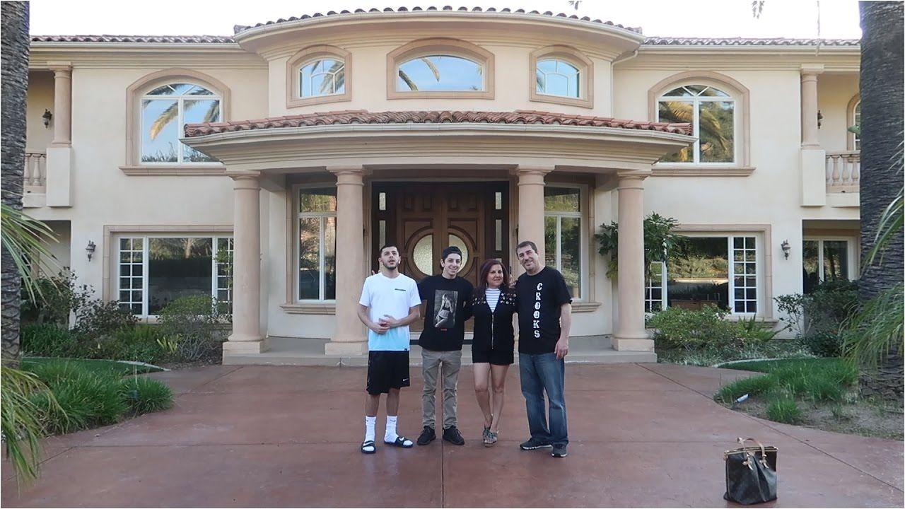 faze rug it s official new house tour