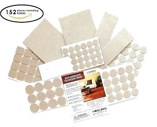 felt pads for chair legs furniture leg home depot tan 3 4 amazon