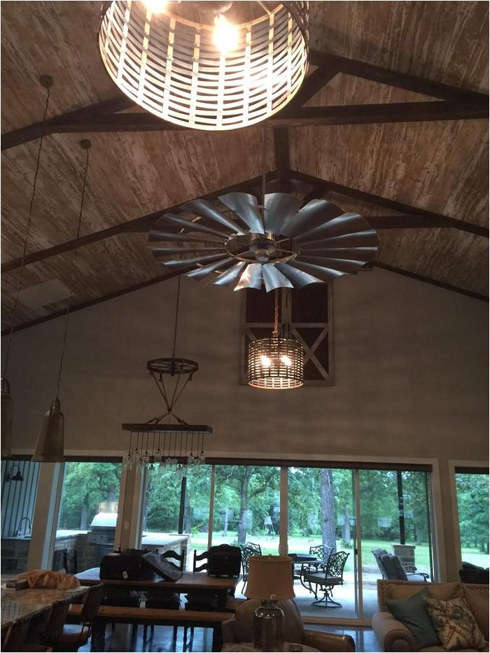 fixer upper windmill decor