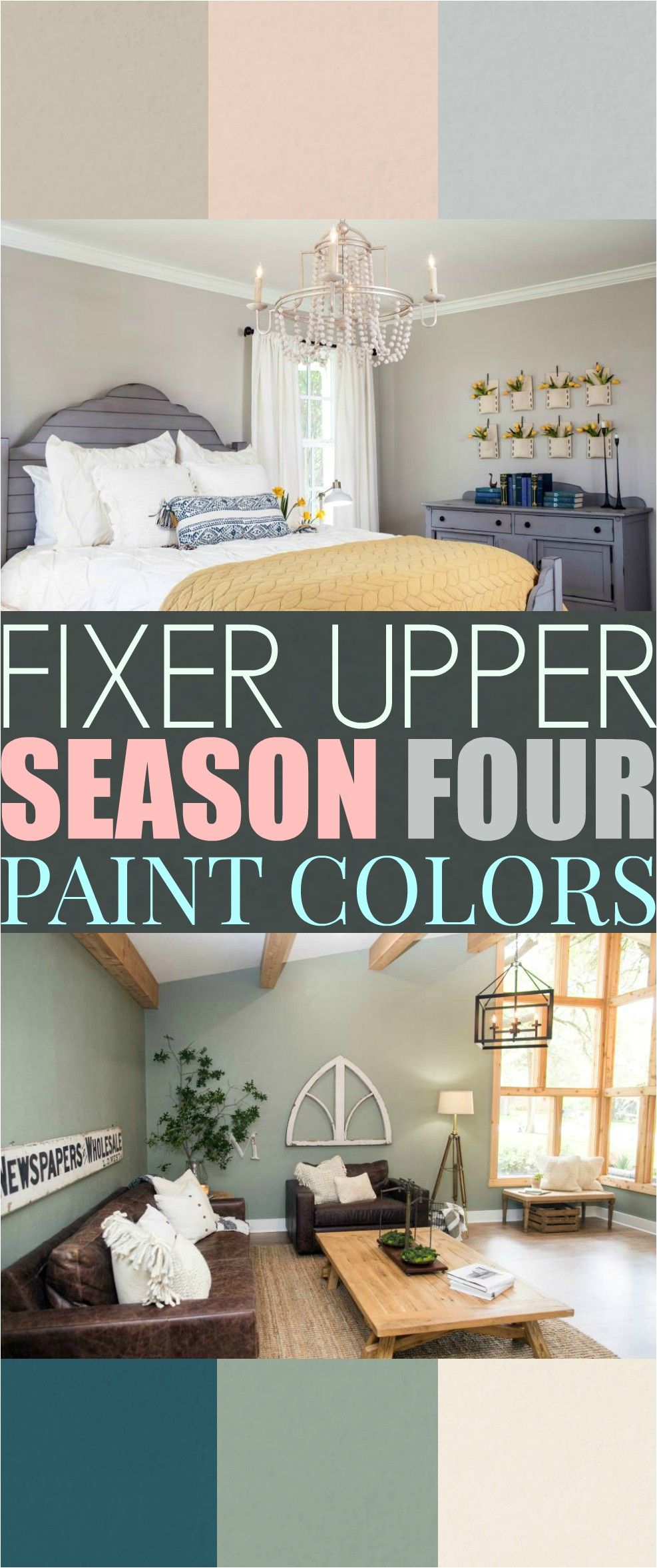 fixer upper living room paint colors