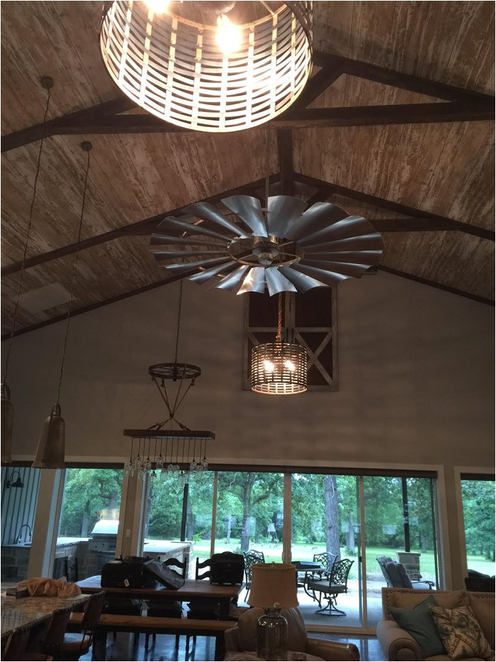 Fixer Upper Retiring to the Country Ceiling Fan Fixer Upper Windmill Decor the Harper House