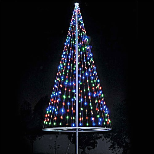 Flagpole Christmas Tree Light Kit for Telescopic Flagpoles Flagpole Christmas Tree Lights Flagco