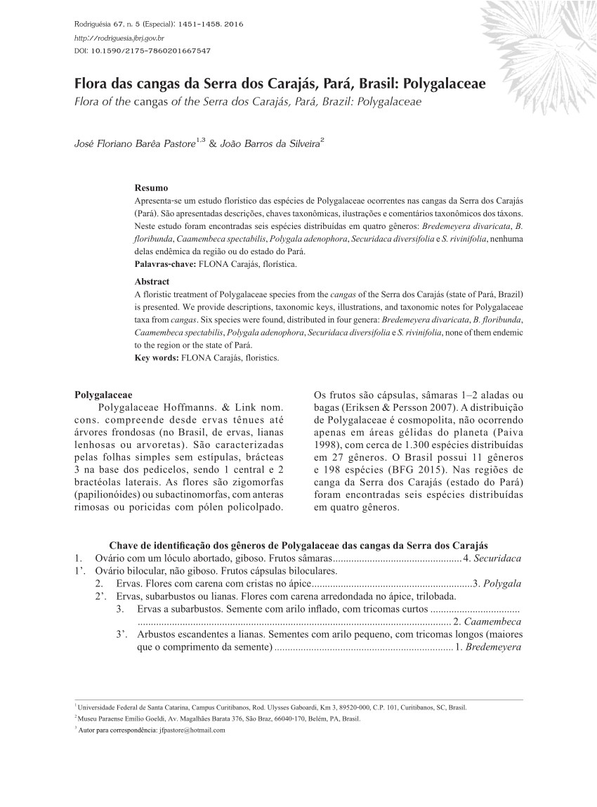 pdf taxonomic notes and new combinations for asemeia polygalaceae
