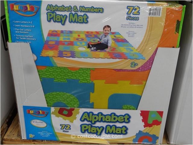 72 pieces alphabet play mat