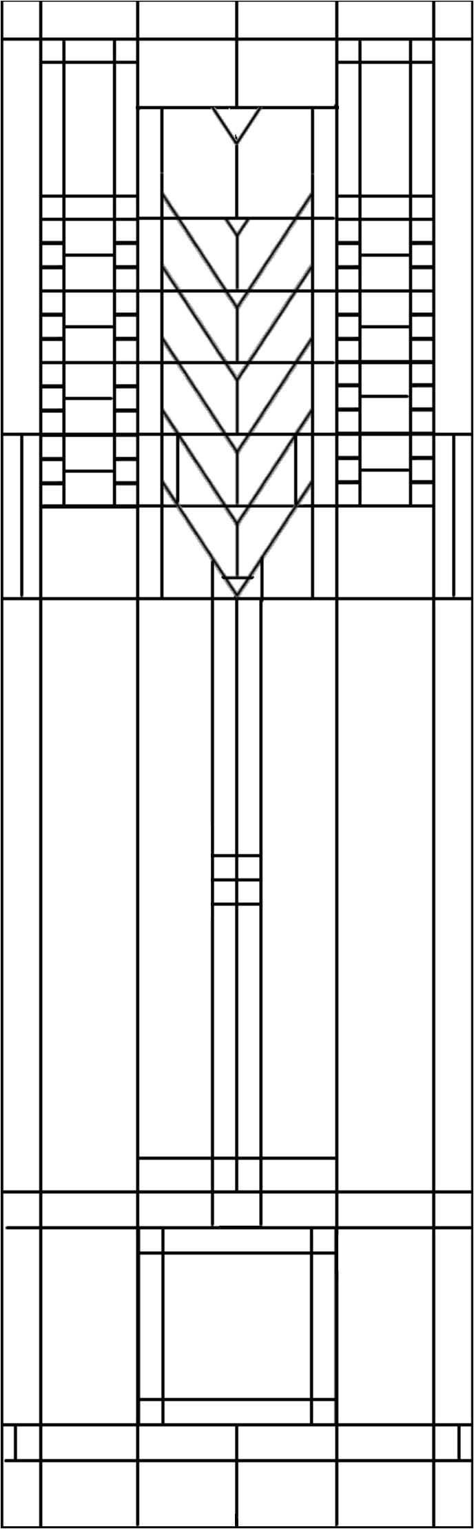 Frank Lloyd Wright Tree Of Life Quilt Pattern Frank Lloyd Wright Patterns Google Search Lcc Project