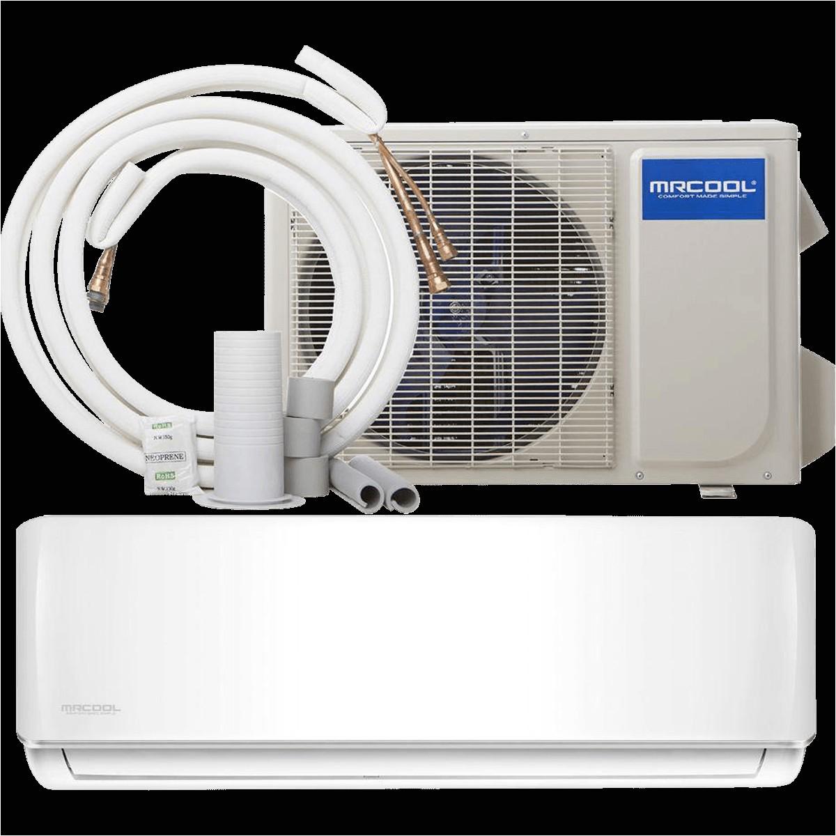 mrcool 36 000 btu 230v diy mini split heat pump