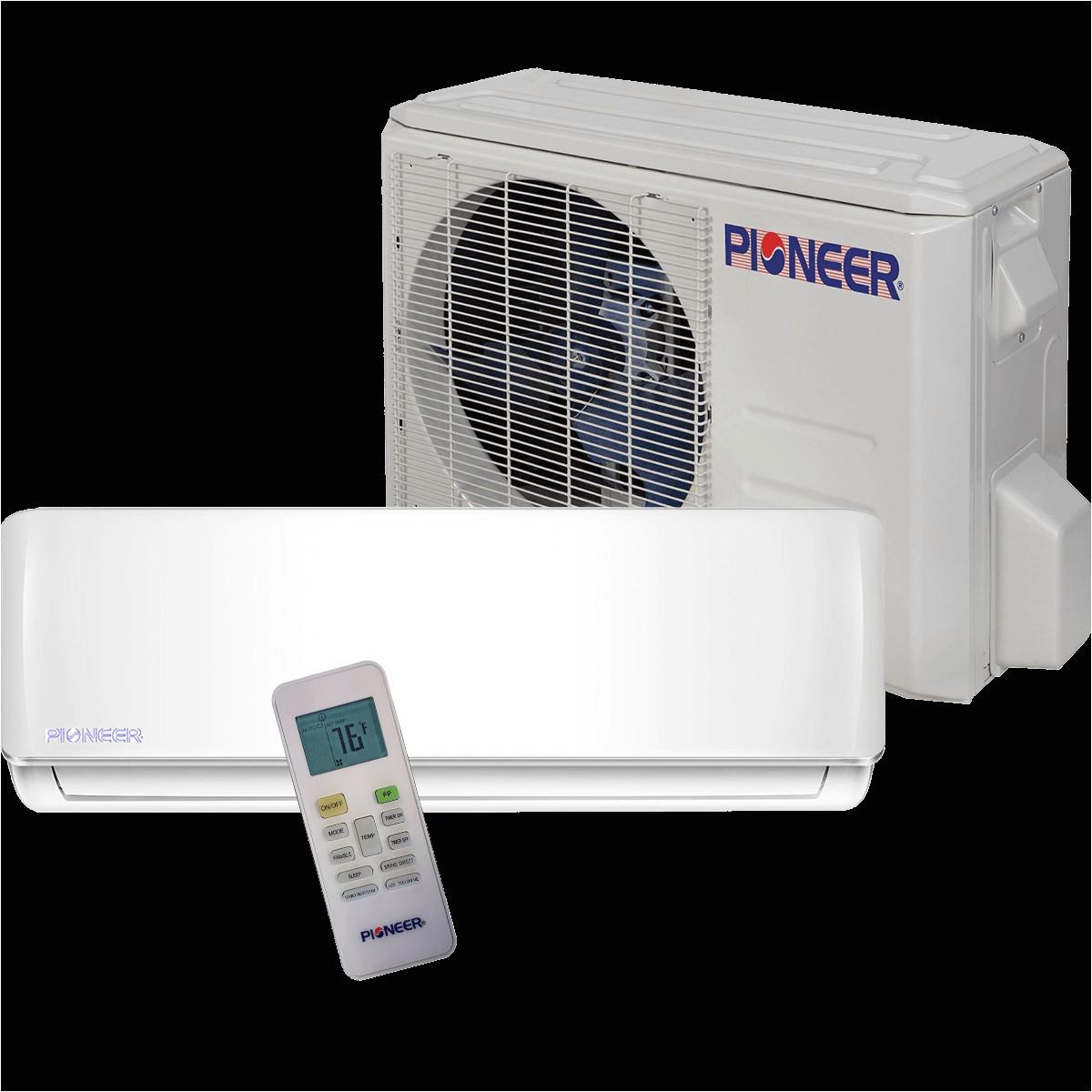 pioneer 36 000 btu 230v mini split heat pump