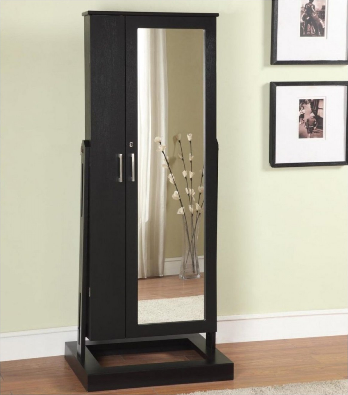 large jewelry cabinets