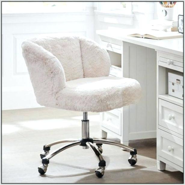 fur office chair ivory faux fur desk chair white faux fur desk chair