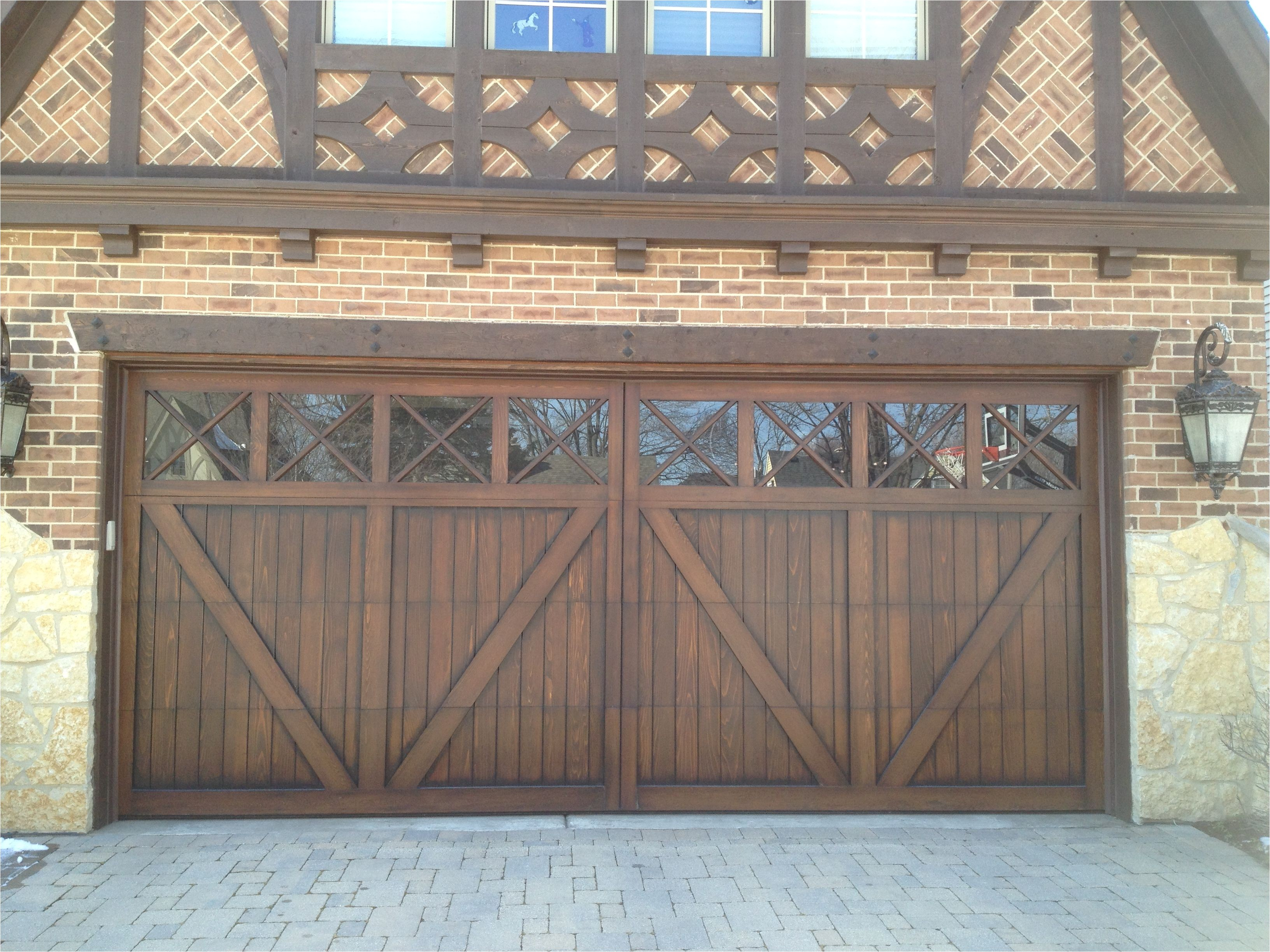 wood carriage house garage door tudor garage door www garagedoorwebsite com
